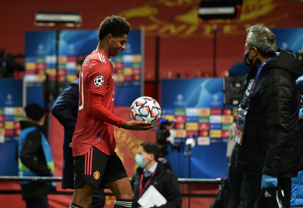 🌟 Marcus Rashford has been named as the #UCL Player of the Week #mufc #ammadutd https://t.co/ZmovPNkyGj