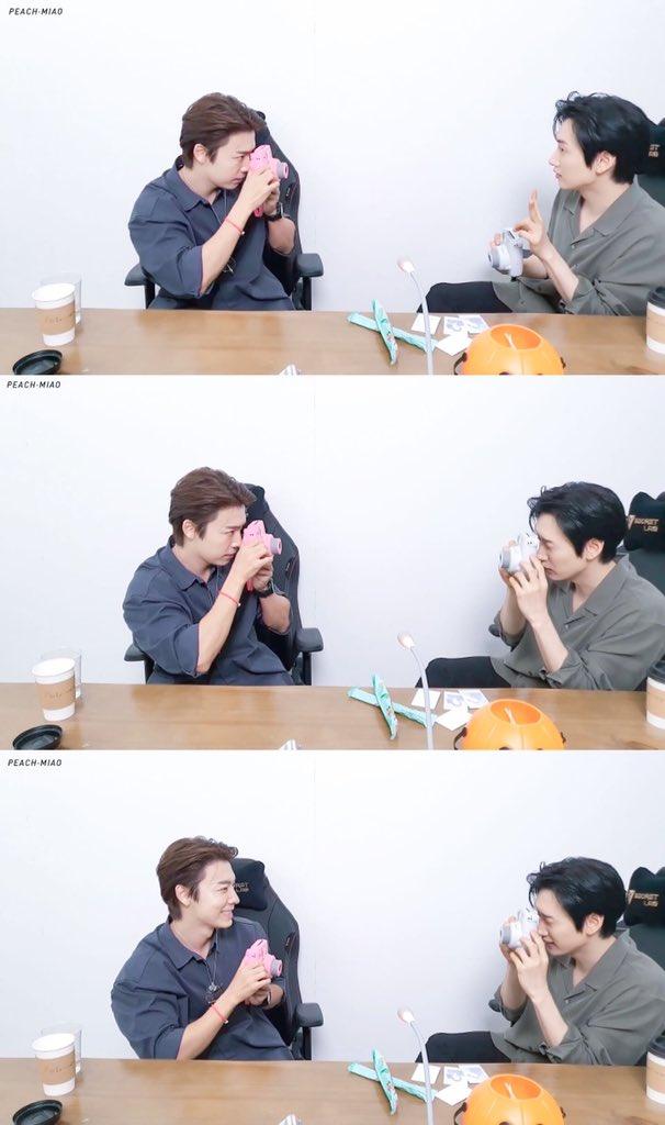 #EunHae #Eunhyuk #Donghae   #SuperJuniorDnE    #은해 #은혁 #동해 #슈퍼주니어DnE   ⦁ 201030  SM超级偶像联赛 和平精英 第三期  [ no edit , no reupload , no commercial use ] https://t.co/3pFcz8Uzn4