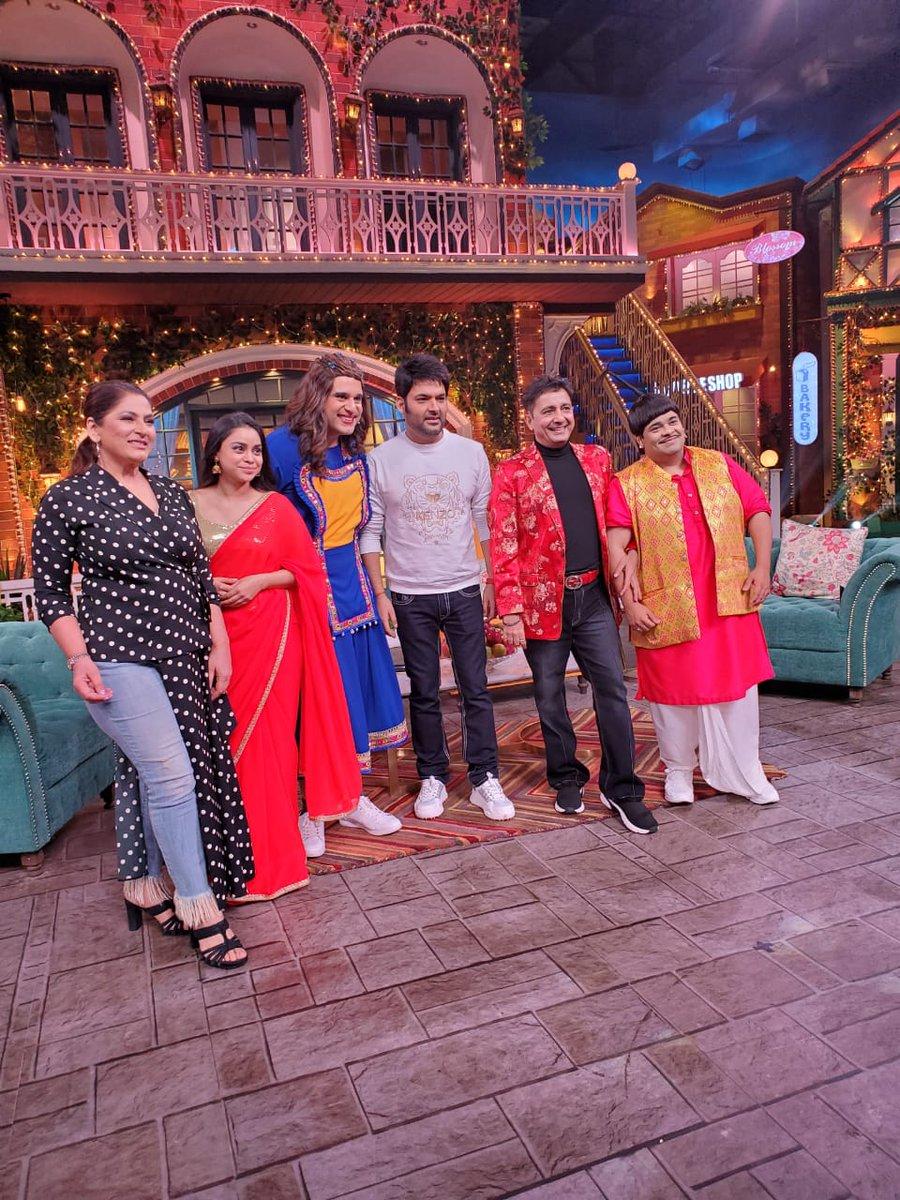 I am blessed to be part of this show once again #kapilsharmashow @SonyTV @KapilSharmaK9 @Krushna_KAS
