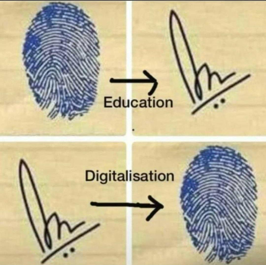 #education vs #digitalisation https://t.co/NTNS9B5zDa