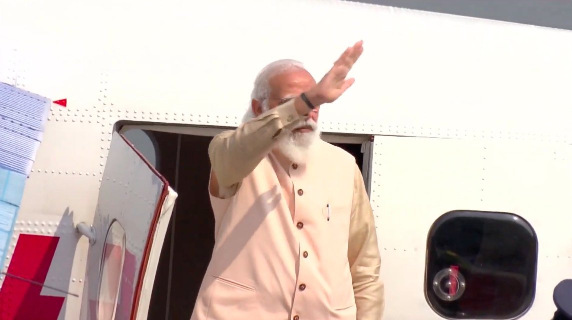 Prime Minister Modi concludes his two-day visit to Gujarat