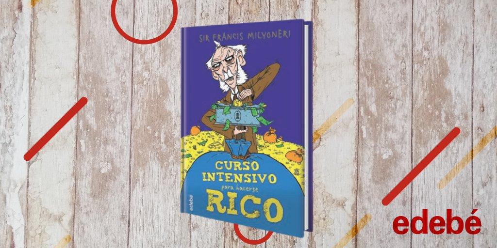 """➡️Para celebrar el #DíaMundialDelAhorro que mejor que recomendaros """"Curso intensivo para hacerse Rico"""" 💰 Porque, seamos sinceros: En estos tiempos que corren....además de la salud ¿Hay algo más importante que el dinero? 🤑#Literatura #Infantil https://t.co/vw1dHN0ZkE https://t.co/k7CIwYebyg"""