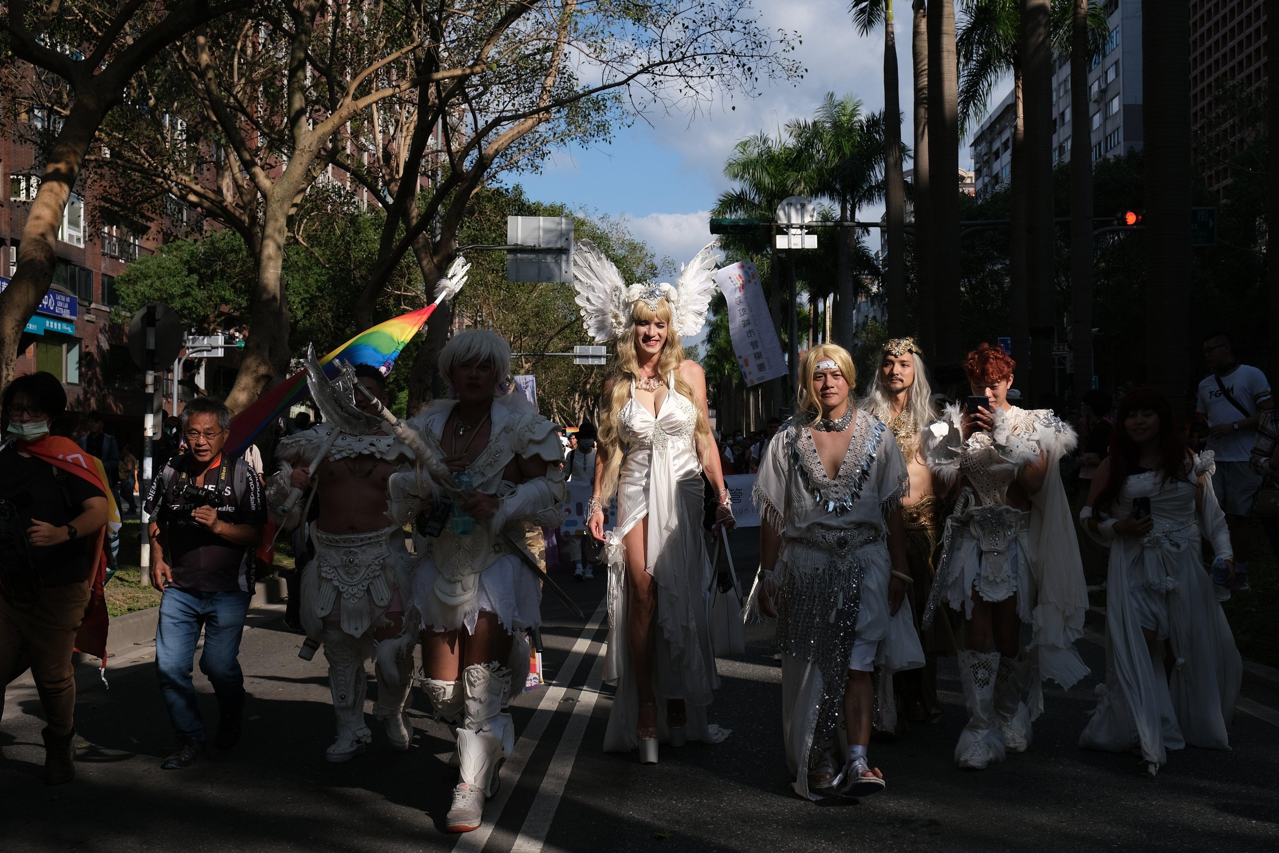 Parada LGBT de Taiwan 2020 (Foto: Reprodução / Twitter)