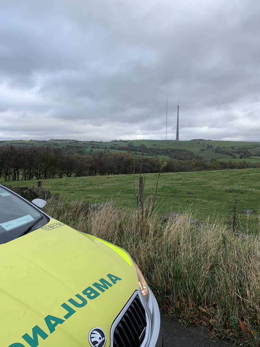 Taking a moment to reset 🚑  #ambulance #paramedic #NHS #StaySafe #FirstRespondersDay #NationalFirstRespondersDay