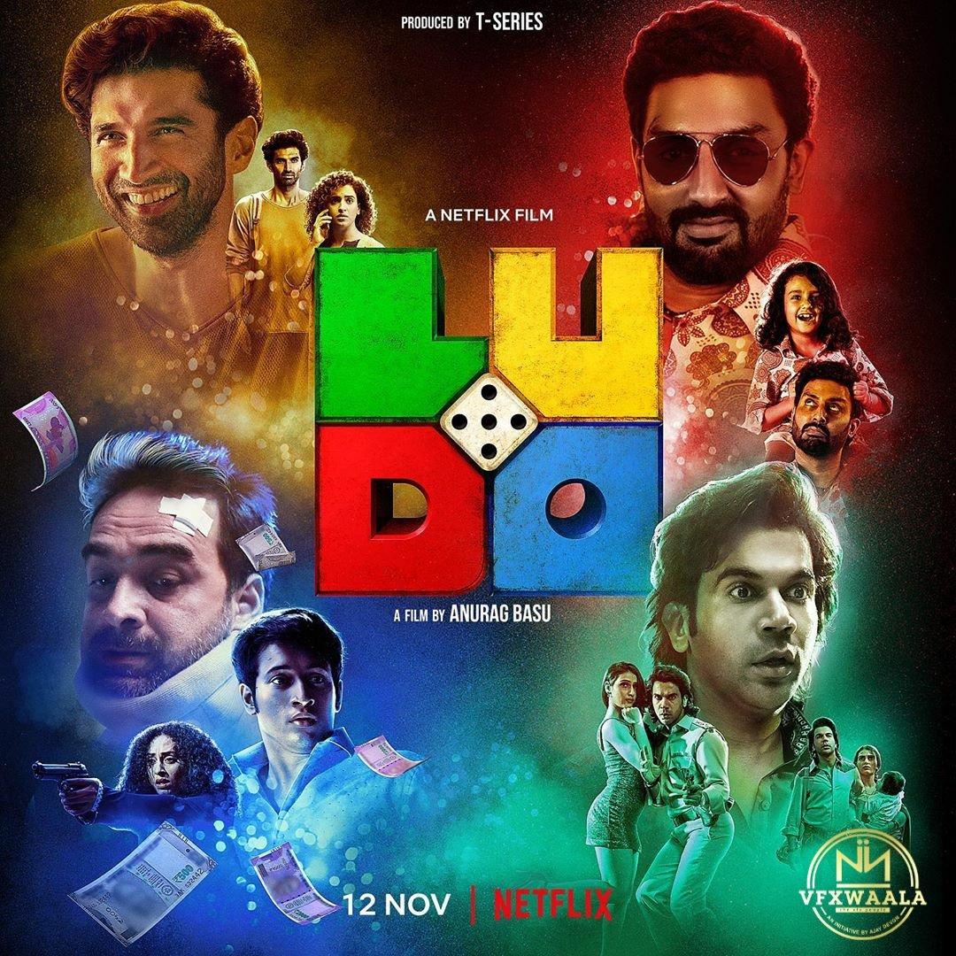 The game is about to begin 😉 Which house are you betting on? 🎲 Check out the #Ludo trailer now ~    #thevfxpeople #VfxPartners @vfxwaala @pauly_vfxwaala @juniorbachchan #AdityaRoyKapur @RajkummarRao @TripathiiPankaj @sanyamalhotra07 @fattysanashaikh