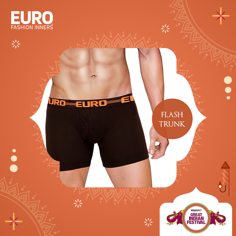 Shop your favorite Flash Trunk @ special prices @amazonIN :  #GreatIndianFestival #Vest #Brief #Trunk