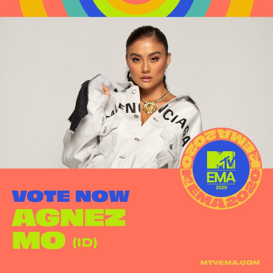 Head on over to  to vote for @agnezmo now!👀 @mtvema #MTVEMA #EMA #BestSoutheastAsiaAct