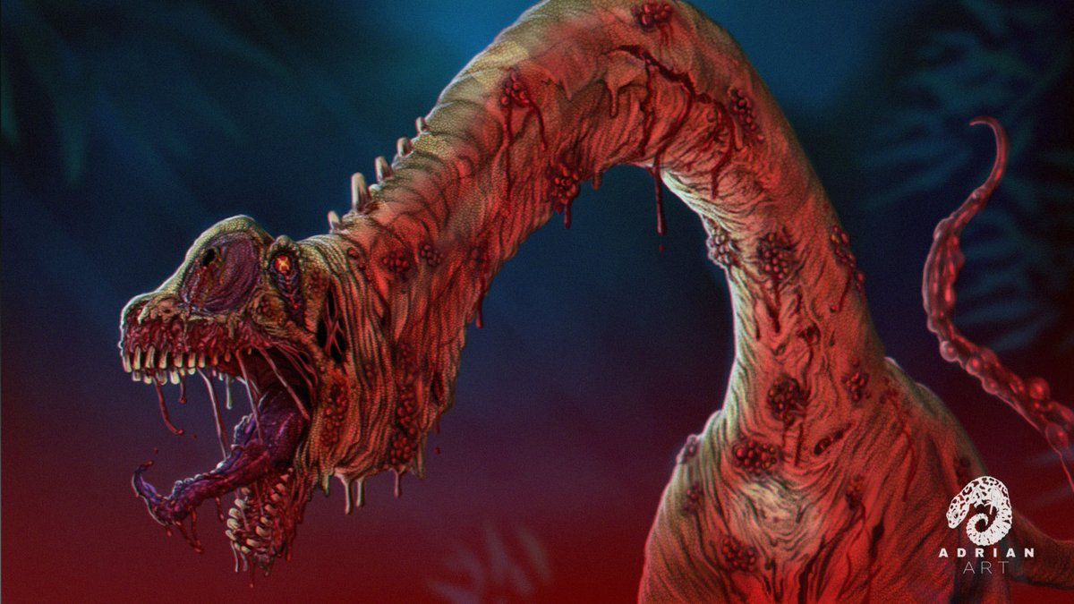 Adrian Art On Twitter Genndy Tartakovsky S Primal Infected Sauropod Fanart Video Https T Co 6xnyyvype8 Halloween2020 Halloween Zombie Dinosaur Primal Https T Co X56a7wxa8i Primal (c) genndy tartakovsky art by me. primal infected sauropod fanart