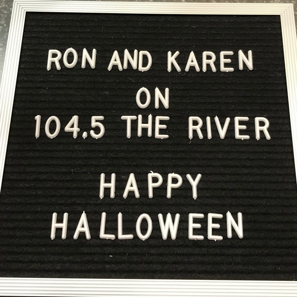 Have a great day! Be safe y'all' 🎃  from @RonOlsonMemphis and @KarenPerrin901, your 104.5 The River Morning Show 👻 https://t.co/1lOf50gzWU