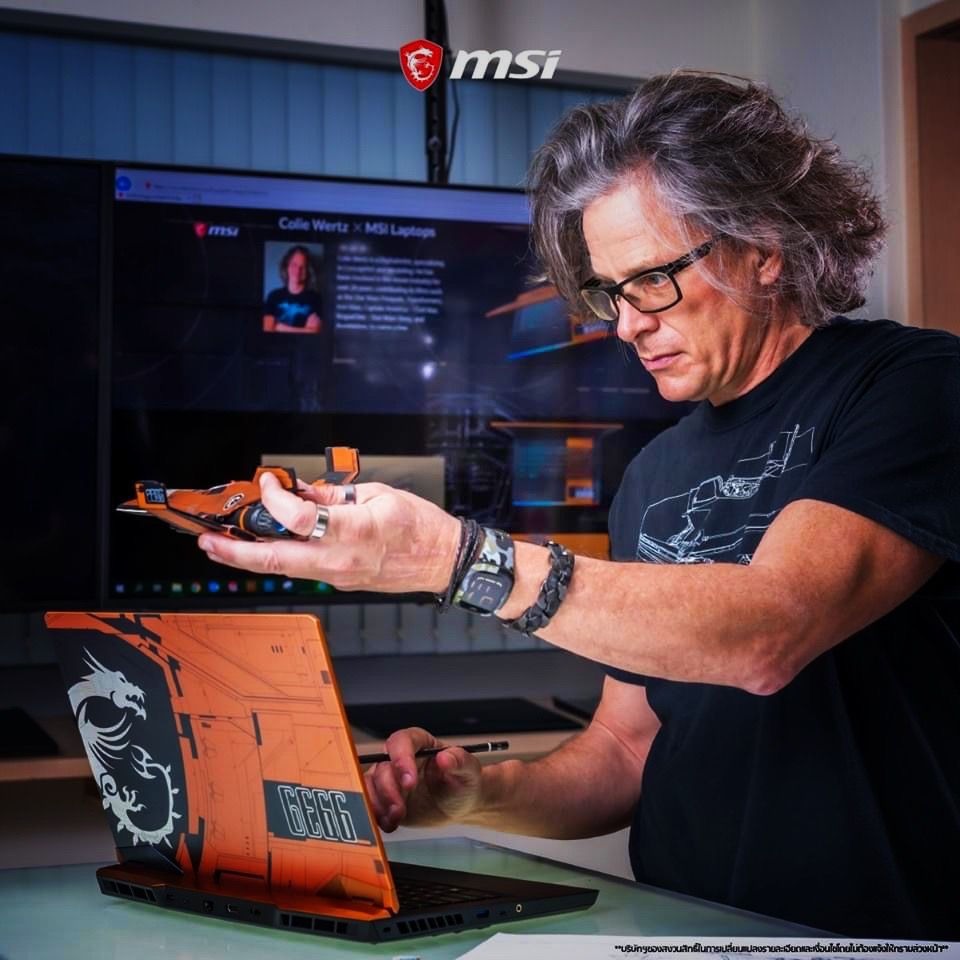 Star Wars artist Colie Wertz has a vision for the future of laptop design
