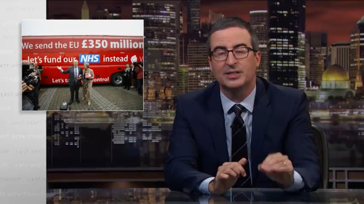 """""""Britain is about to be f**cked ..."""" Let's remember this prophetic  'tragedy gold' with John Oliver on Boris Johnson becoming PM, viewed by millions: Boris Johnson: Last Week Tonight with John Oliver (HBO) https://t.co/WQSRext5Kr https://t.co/U77zfrgzFX"""