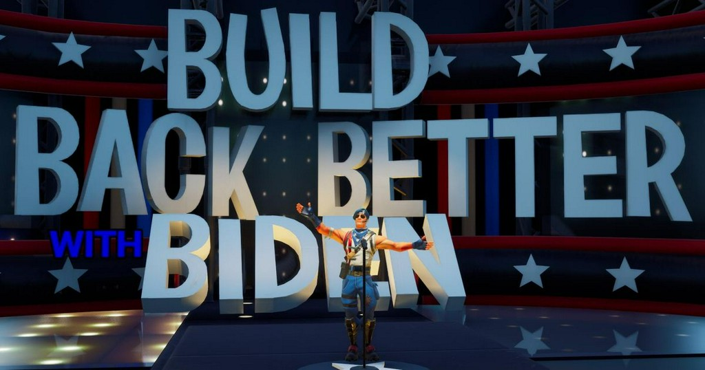 Biden/Harris campaign heads to 'Fortnite' ahead of Election Day