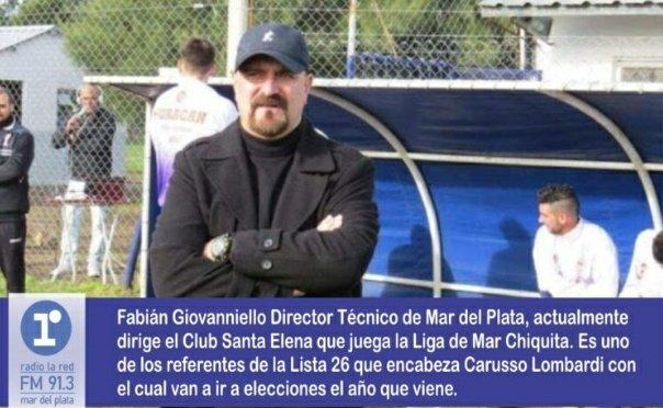 """#Entrevista  En """"IMPULSO CIUDADANO""""  🗣📱#Futbol Entrevista a Fabián Giovanniello coordinador de la agrupación de técnicos de fútbol Mar y Sierra.  Seguinos por 👇 https://t.co/rA2SOrHlrR  Temporada III 📻 """"Impulso Ciudadano"""" Por #LaRed #MDP https://t.co/y3XaKJjQo2"""