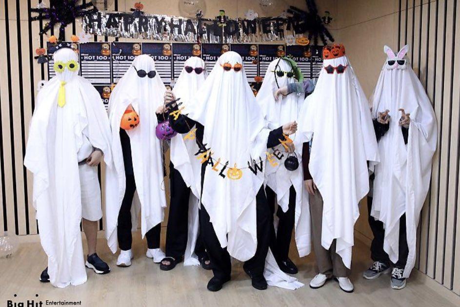BTS BE Halloween