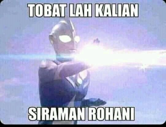 Ultraman yang katanya jago dalam khotbah siraman rohani ini akan tayang kembali di RTV https://t.co/rstUaaZ0Xw https://t.co/o3lzToDs2c