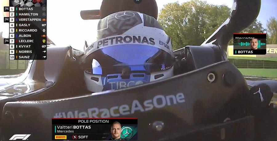 f1 imola pole position