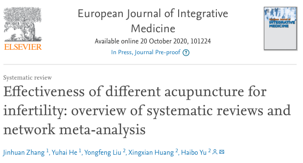 """Compared with western medicine, #acupuncture significantly increase the pregnancy and ovulation rates, as well as reduces the rate of miscarriages among Chinese women with #infertility."" https://t.co/z6w3CjIcHz https://t.co/jKqPYpxXjX"