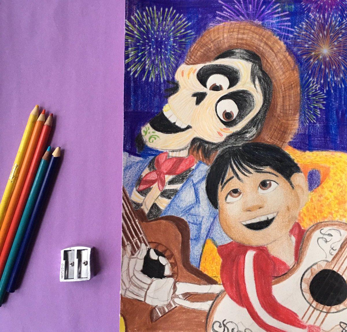 Recuérdame 🎸 #Coco #PixarCoco #pixar @Pixar #disney @Disney  #art https://t.co/2pt3j2BB8q