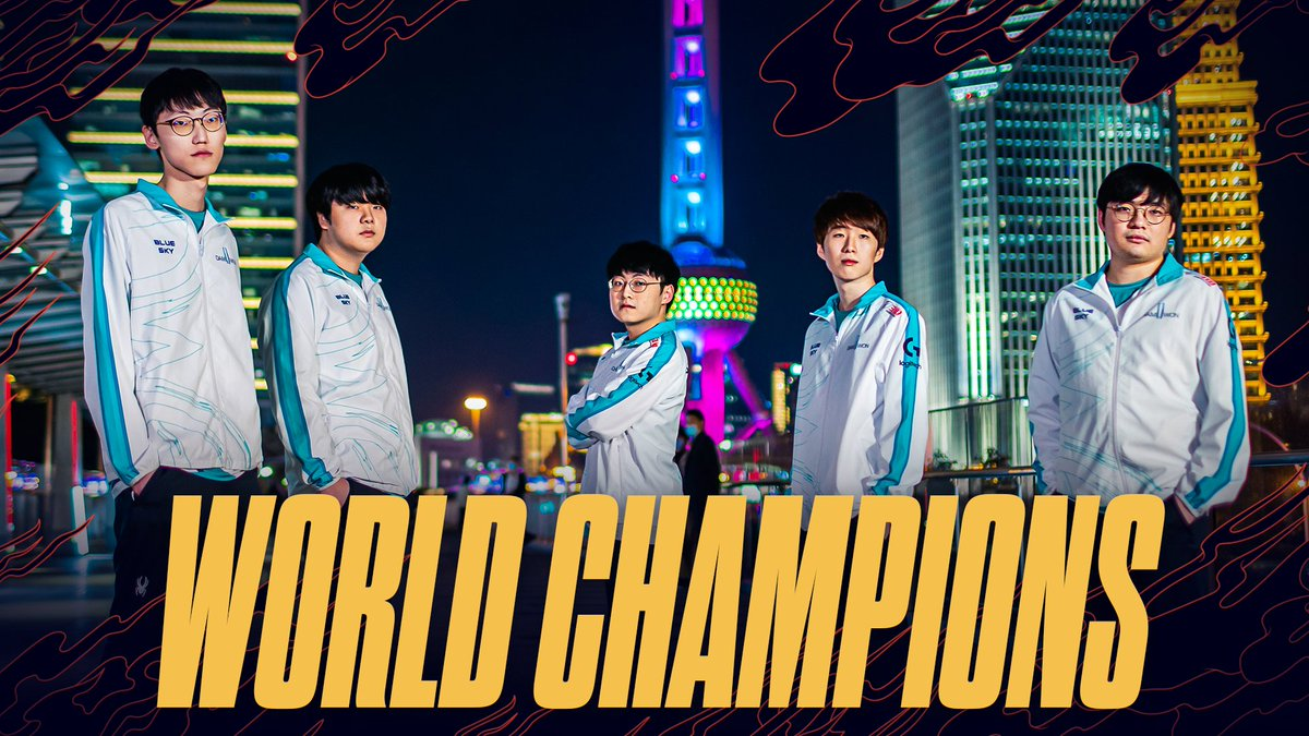 DAMWON GAMING ARE THE 2020 WORLD CHAMPIONS! 🏆 #Worlds2020