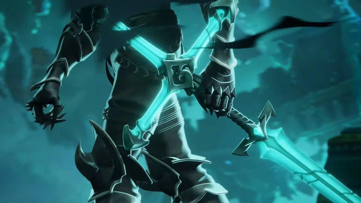 """PBE BRASIL on Twitter: """"Teaser do próximo jungler/espada do Rei Destruído. Reparem no símbolo do anel e da espada, Rei Destruído no LOL? Compre seu periférico Gamer com 20% OFF usando o"""