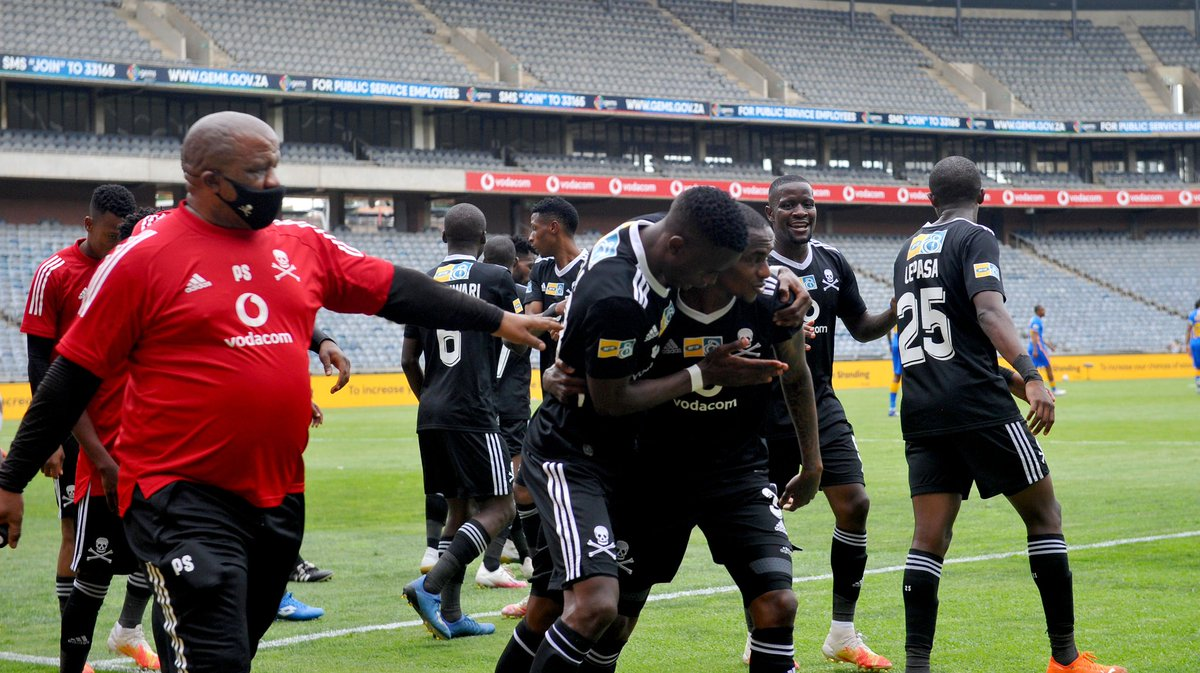 ⏳ Additional Time | 3mins 🥅 @orlandopirates 3 - 0 @KaizerChiefs https://t.co/fHtHV7Wxb2
