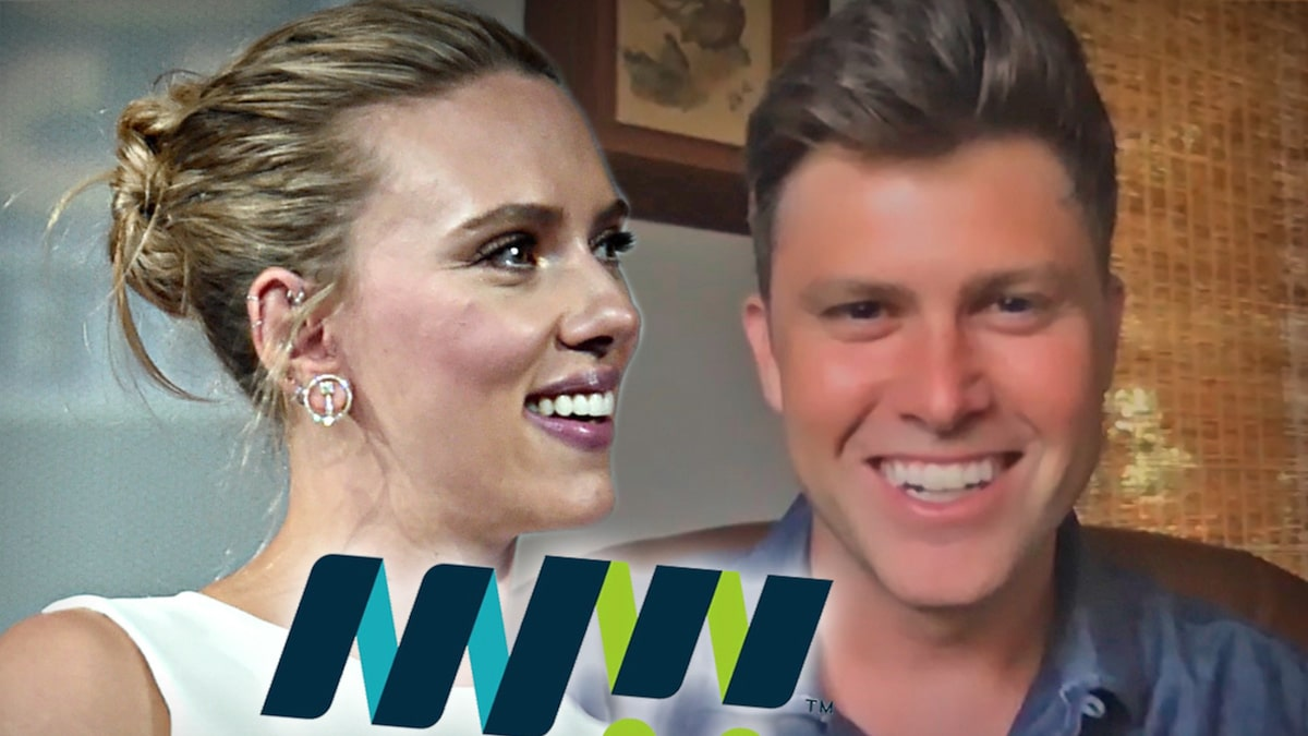 Scarlett Johansson, Colin Jost Wedding News Raises Money for Meals on Wheels Photo