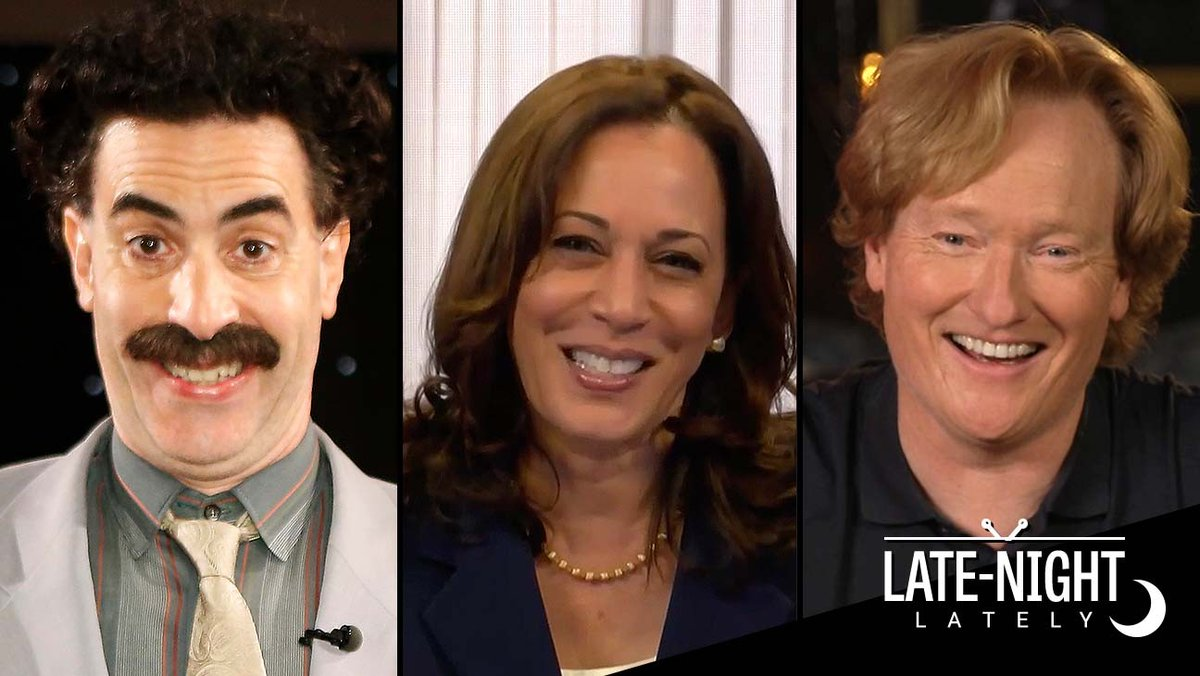 Late Night Lately: Kamala Harris, Sacha Baron Cohen and a last push before election day thr.cm/k0ddHCp