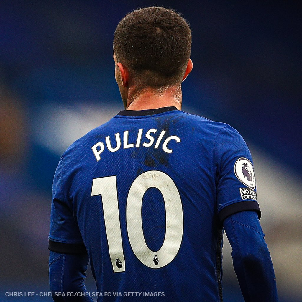 Christian Pulisic has now missed ten games due to injury this season. https://t.co/6or3nBHTfv
