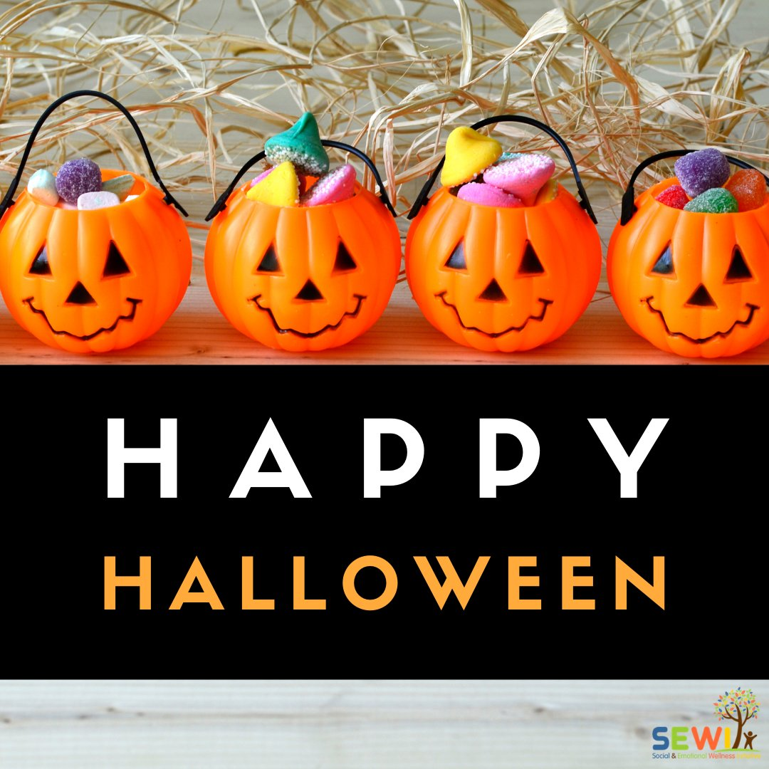 We hope you have a safe and fun Halloween! Dress up and have a dance party? Make a treat for yourself? Any fun plans? #HappyHalloween #Halloween #SelfCare #MentalHealth #Wellness #SEL #emotionalwellness #mentalwellness #positivity #wellbeing #strong #strength #support #hope #rise https://t.co/aHQVTiqWYB