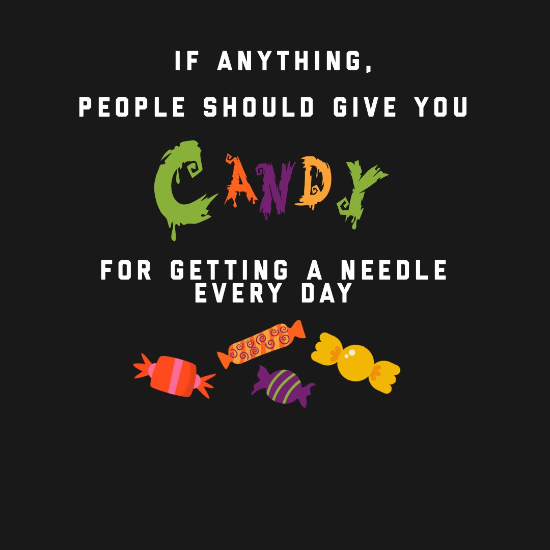 You deserve all the candy. #Halloween2020 #infertility https://t.co/fbupXUAVS3