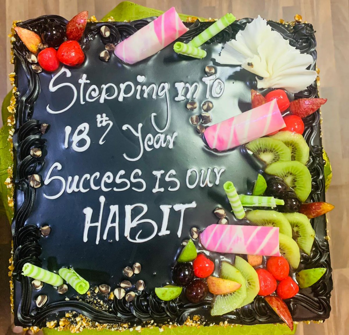 "INNOKAIZ DAY ! 17 years of Business Excellence !  Now Stepping into 18 years of TRUST & CONFIDENCE... ""Success is our Habit"" Keep it up Team INNOKAIZ. @kaizensukumar @Duraira20186983 @MadheswaranAjay   #INNOKAIZDAY #INNOKAIZ #INNOKAIZGIFTCARD #rewardingexcellence #REWARD"