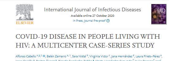 A large study of #COVID19 in persons with #HIV  -effect of virus upon virus / virus with virus -as is case with primary immunodeficiencies, survival in these acquired-immunodeficiency patients is ⬆️  https://t.co/3uHGDQCvcK #rstats #iot #openscience #bigdata #itrtg #immunology https://t.co/kUcvCLBLnF