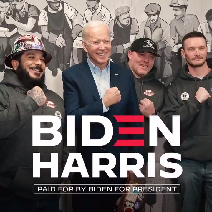 This is @joebiden's hometown. This is more than where he's from. This is who he's for.