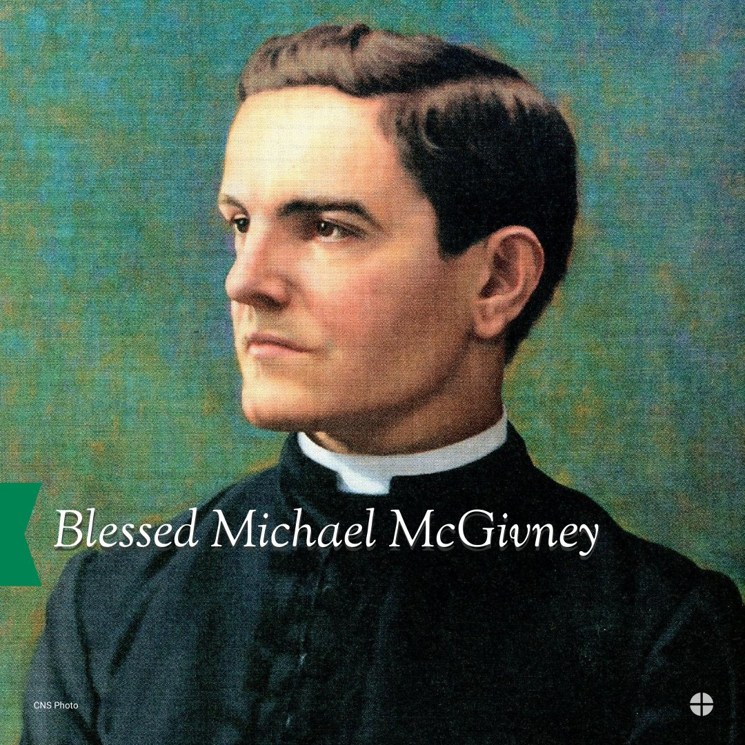 test Twitter Media - Blessed Michael McGivney founded the @KofC in 1882 on the principles of charity, unity, fraternity, and patriotism. The organization has grown from a small fraternal group of men to a worldwide charitable organization that serves millions. Blessed Michael McGivney, pray for us! https://t.co/uCZeH8vxI4
