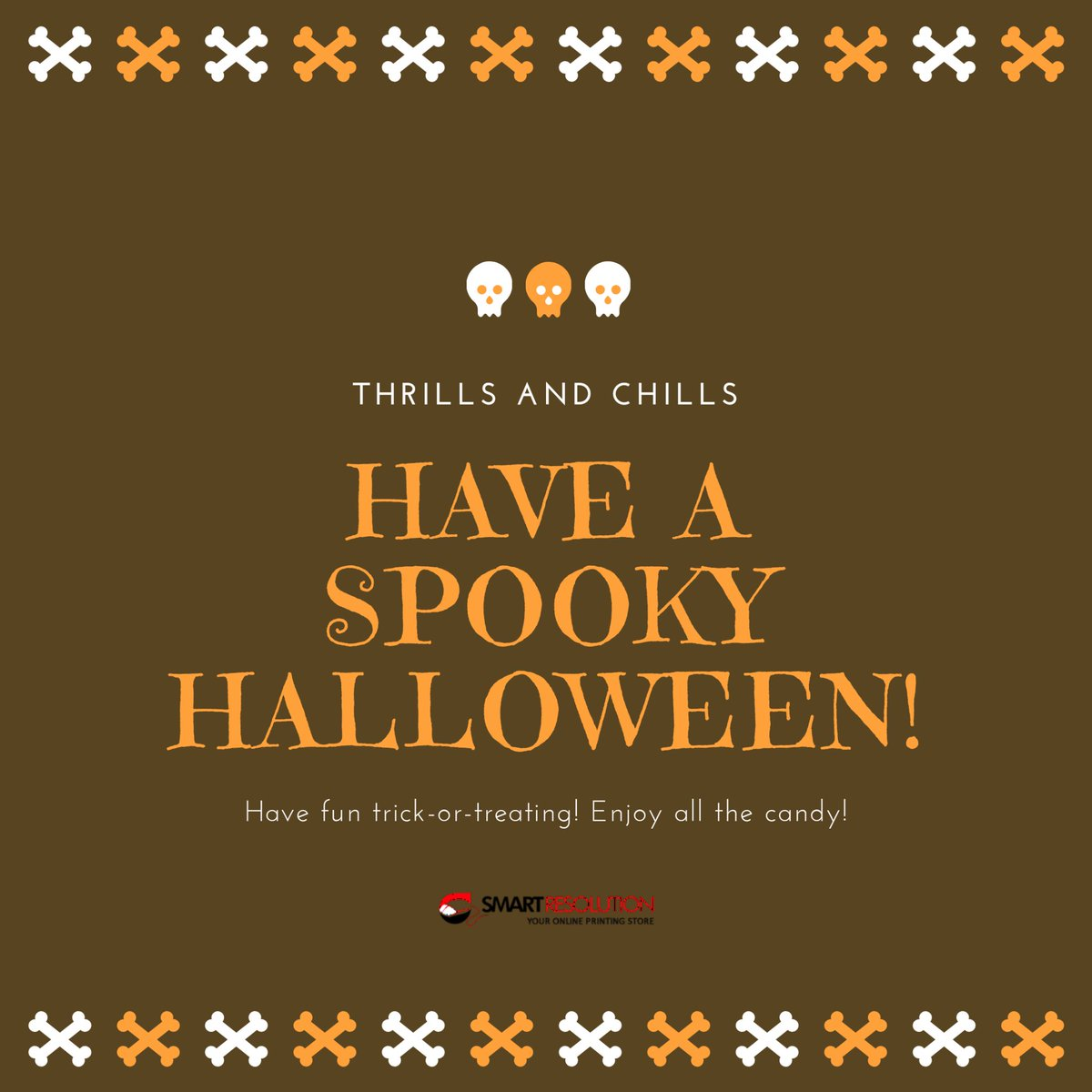 Hope your Halloween is exactly as spooky as you want it to be – no more, and no less. #HappyHalloween2020