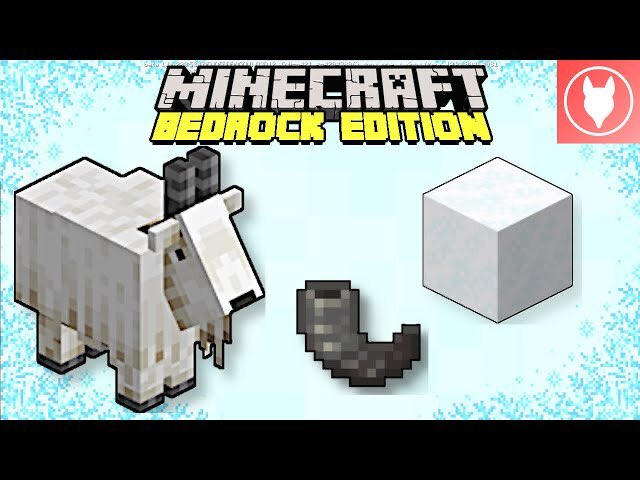 Rogue Fox - Take a look at the goat and powder snow added in the latest @Minecraft Bedrock Beta!  Minecraft Bedrock Edition - 1.17 Beta : Goats & Powder Snow (Caves & Cli...  via @YouTube