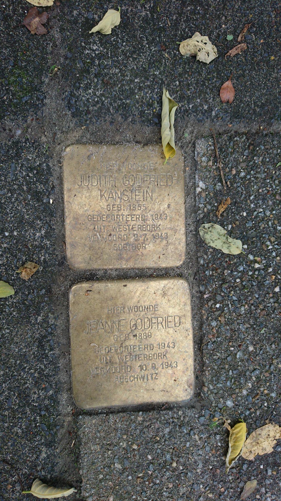 Stolpersteine Westerbadstraat 31