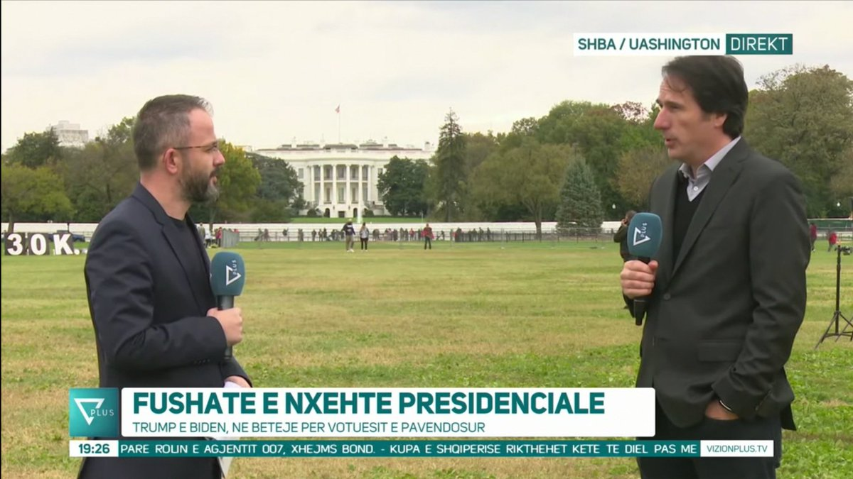 With @Shtuni #LIVE from #WhiteHouse speaking for the #USA #Election2020 https://t.co/23kZRJP7xT