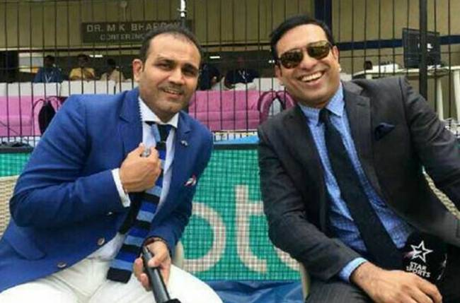 Inke wrist mein alag hi twist tha. Happy Birthday to a wonderful friend Bhrata @VVSLaxman281 . May you find all the love and happiness.