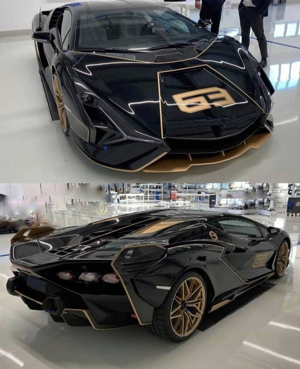 The Supercar Squad On Twitter New Lamborghini Sian In Gold And Black Thesupercarsquad