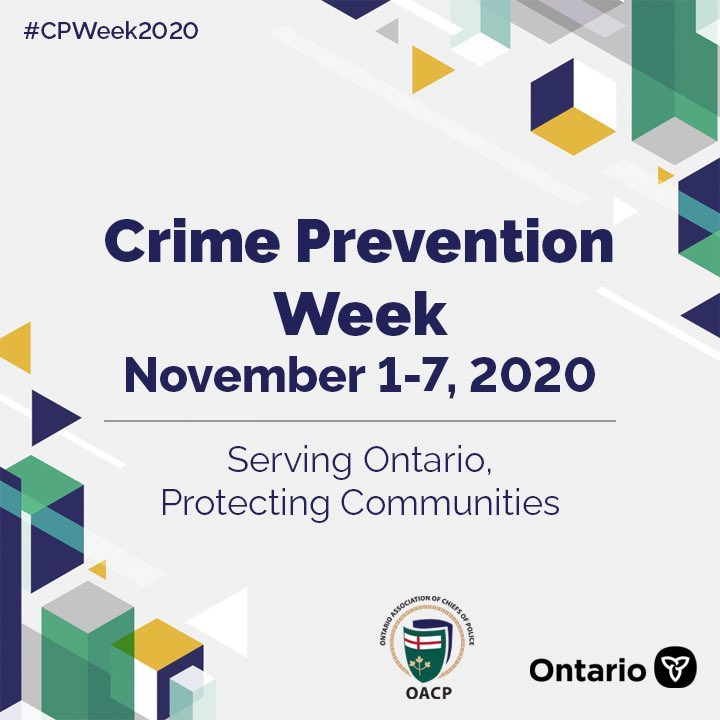 Working with our communities to keep #TO the best and safest place to be. Stay tuned to @TPS43Div 7 days of crime prevention posts #CPWeek2020