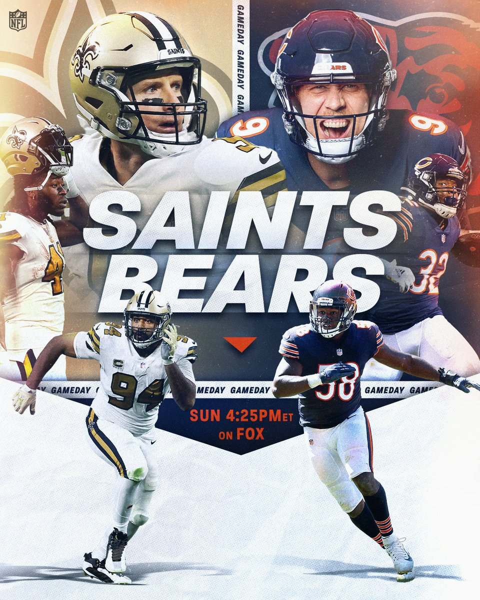 GOOD MORNING #Bears FANS! Can the #MonstersOfTheMidway get back on track vs. #Saints later today on #AmericasGameoftheWeek? Get your preview from 2nd City Sports by clicking the link below! #DaBears #NOvsCHI #ItTakesAllOfUs #NFLonFOX   https://t.co/IVFilA1KPW https://t.co/7JKDPxHu7y.