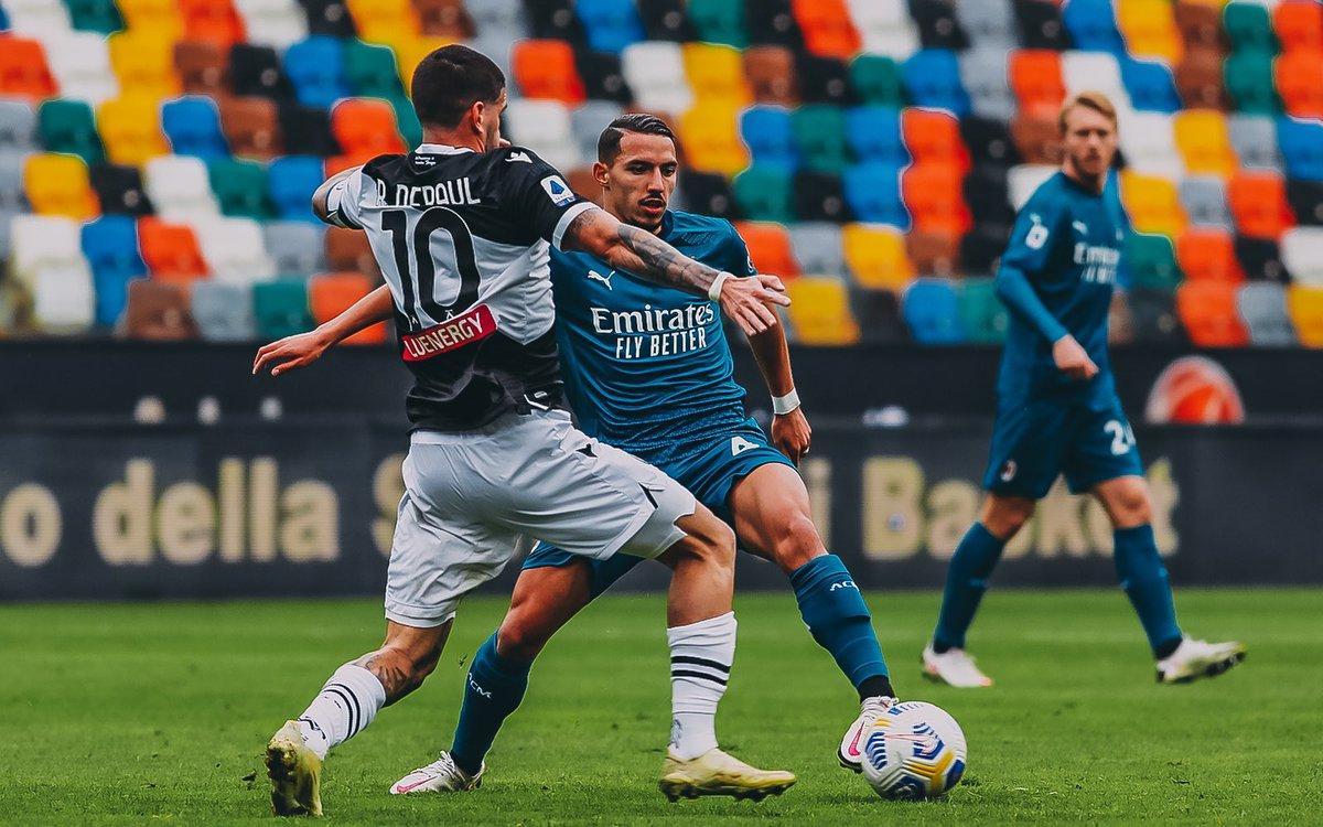 """Ismaël Bennacer on Twitter: """"Retour à Milan avec les 3 points, bravo à  toute l'équipe 🔴⚫️ #ForzaMilan… """""""