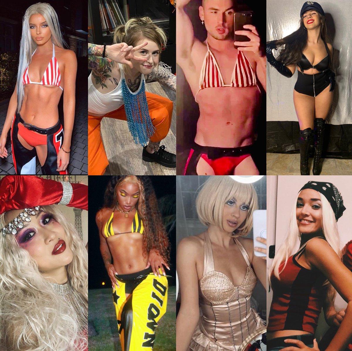 Christina Aguilera: Halloween costumes, 2020 edition 🔥  (A Thread) @xtina