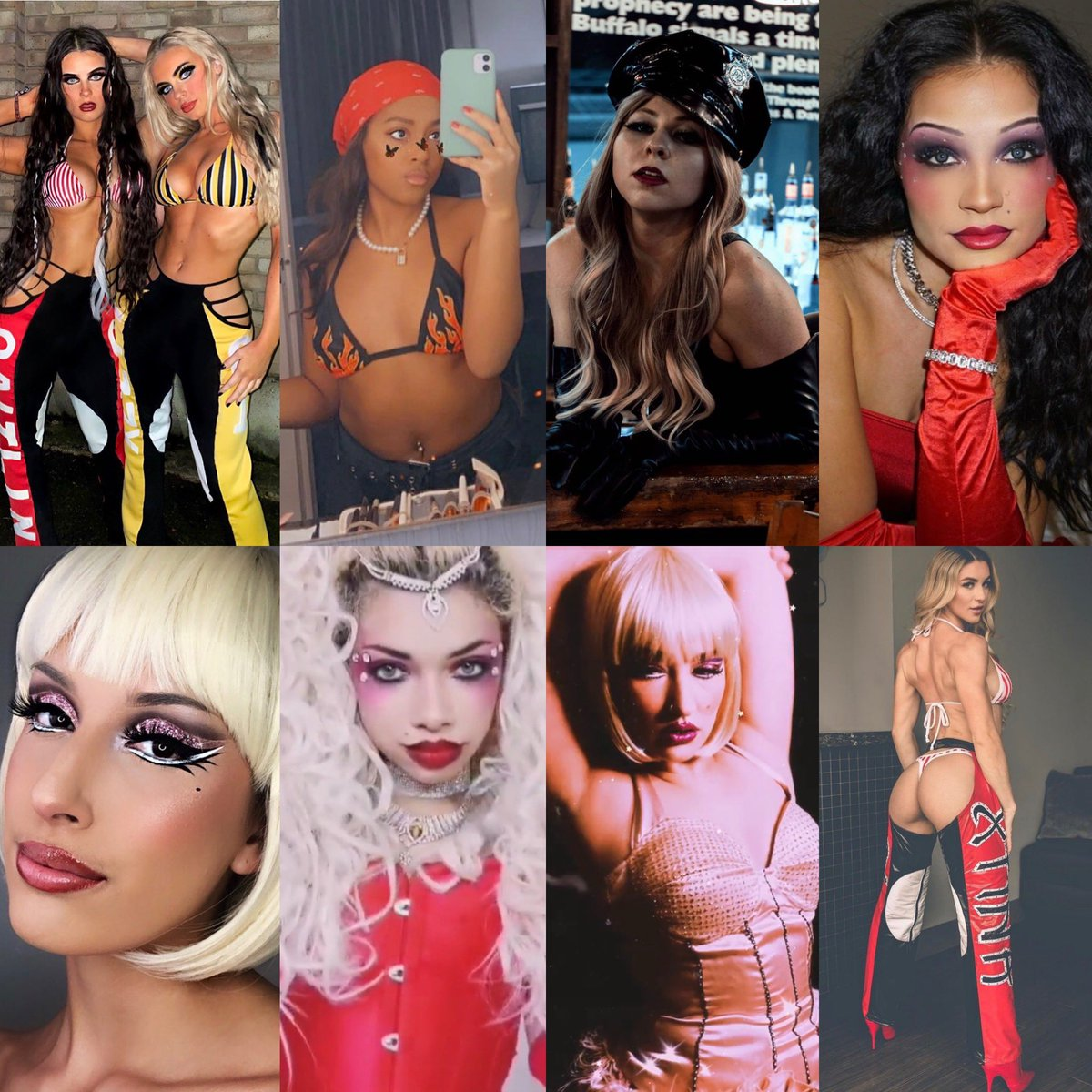 ICONIC looks were SERVED 🔥🎃