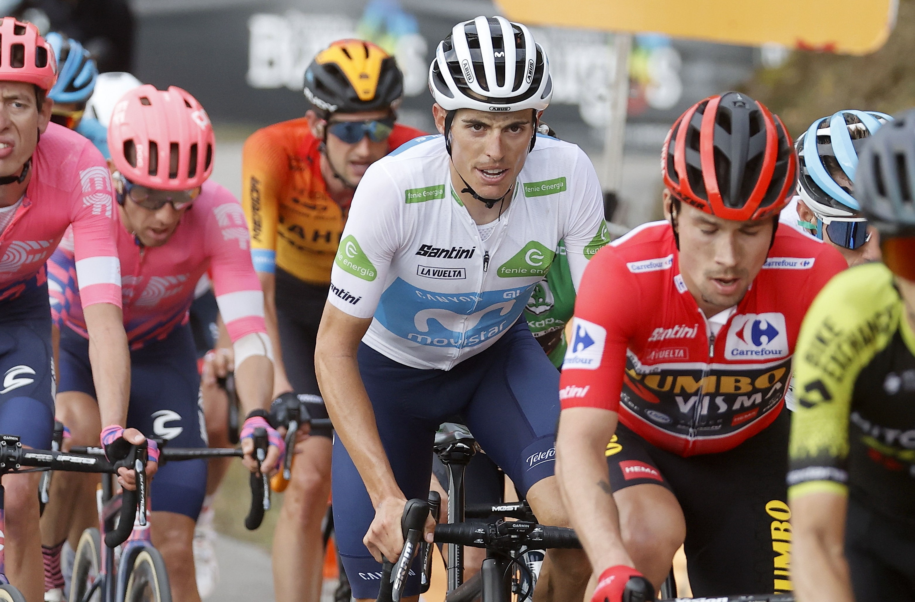 Carthy gana 12 Vuelta 2020