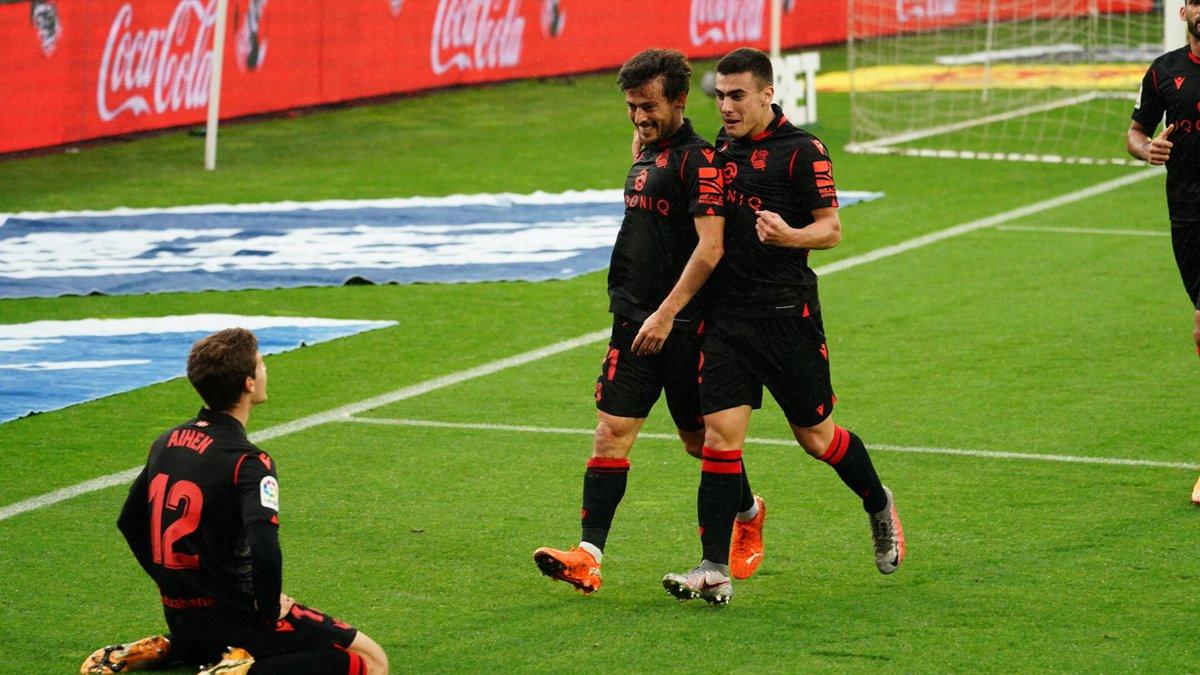 Buenos 3 puntos y gran partido del equipo! Mucha suerte al @RCCelta en lo que queda de campaña, una pena haber visto Balaídos sin su afición #AupaReala
