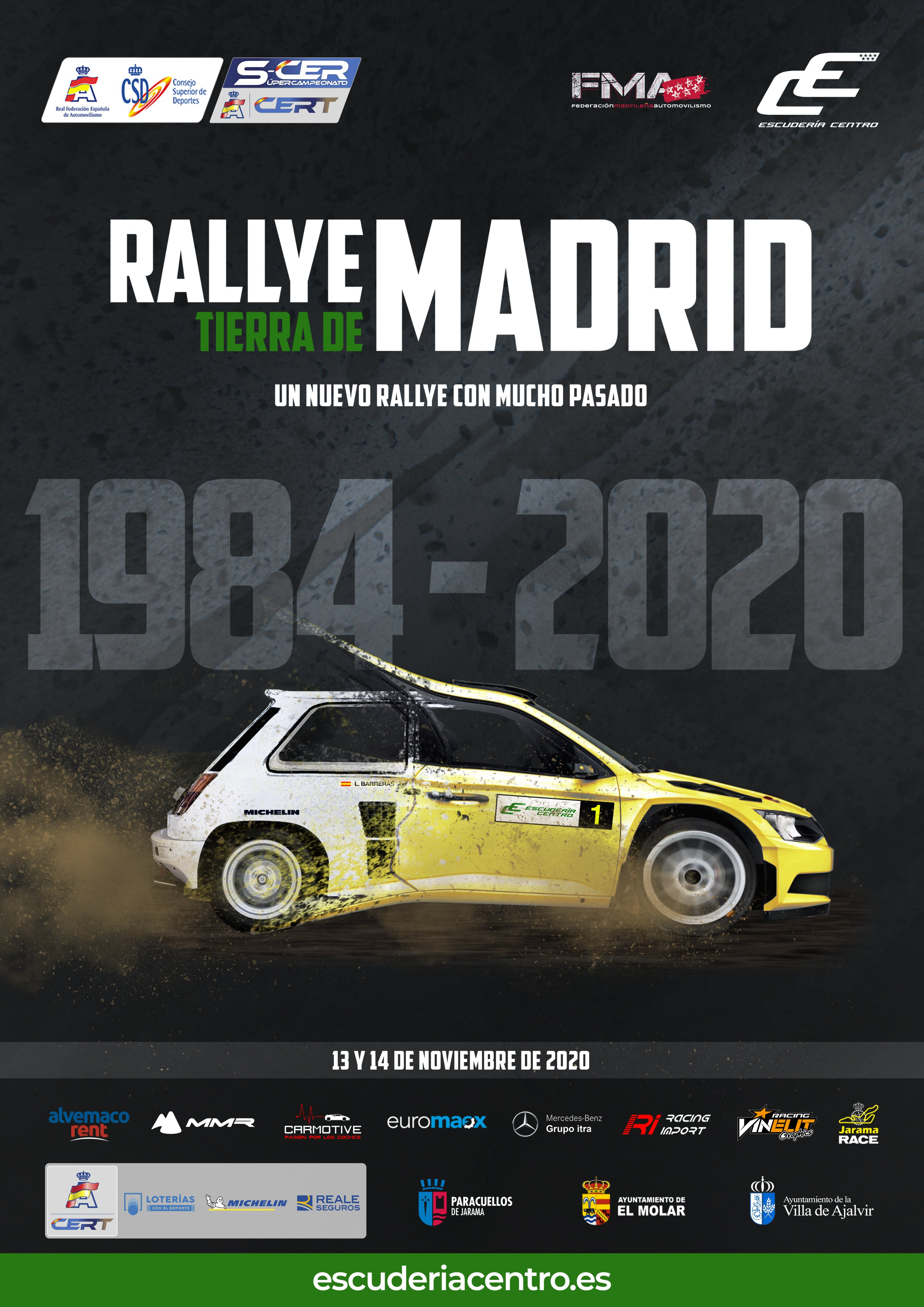 SCER + CERT: Rallye de Tierra de Madrid [13-14 Noviembre] Elwh04pXEAUC5iQ?format=jpg&name=4096x4096