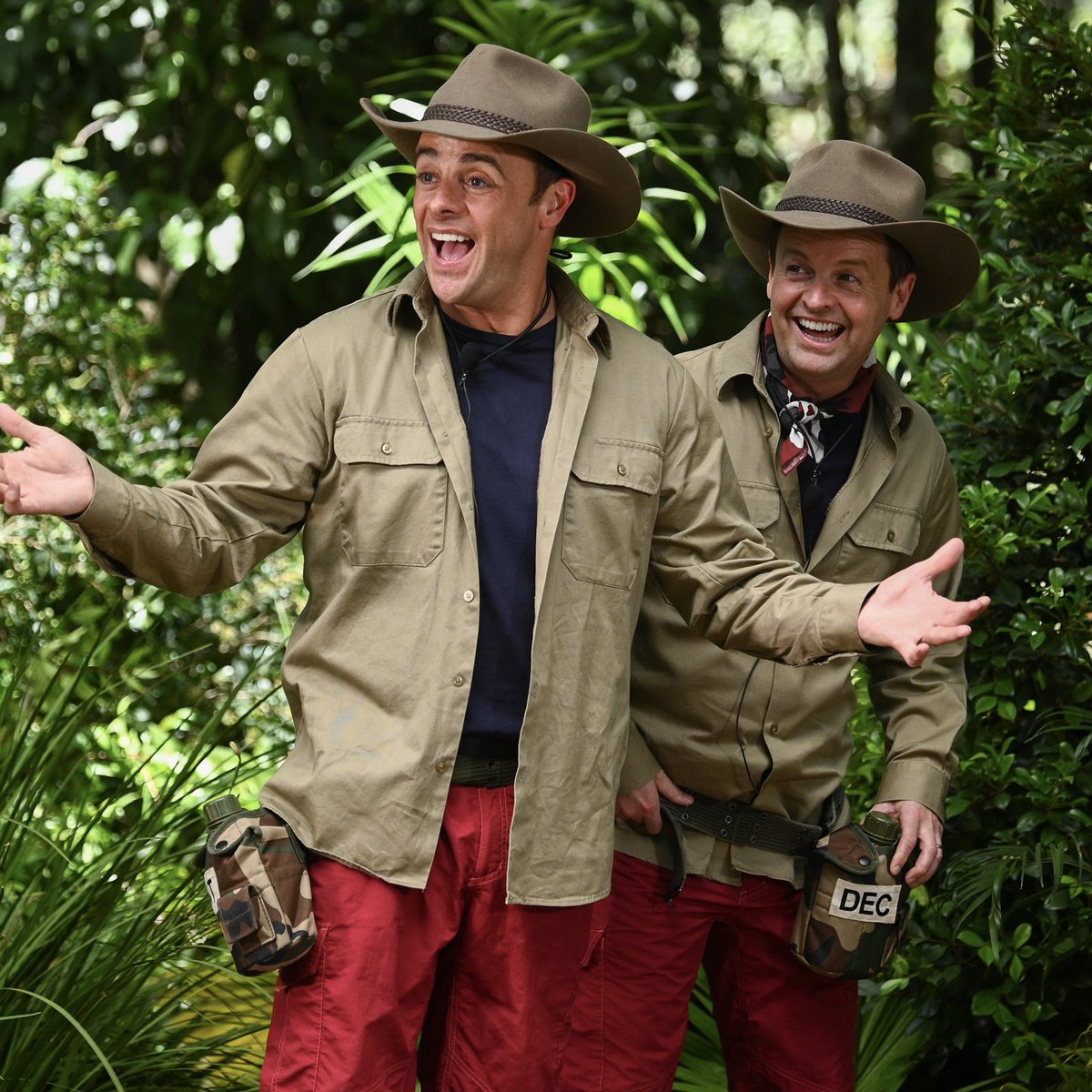 Well, we did it. We finally got talked into doing a #BushertuckerTrial 😬🤢 Don't ask how but rest assured it was as hideous as we thought! See the full trial, and take a look back at 19 series of #ImACeleb, on A Jungle Story, 8:10pm next Sunday, 8th Nov on @ITV @WeAreSTV 🕷🐜🐛