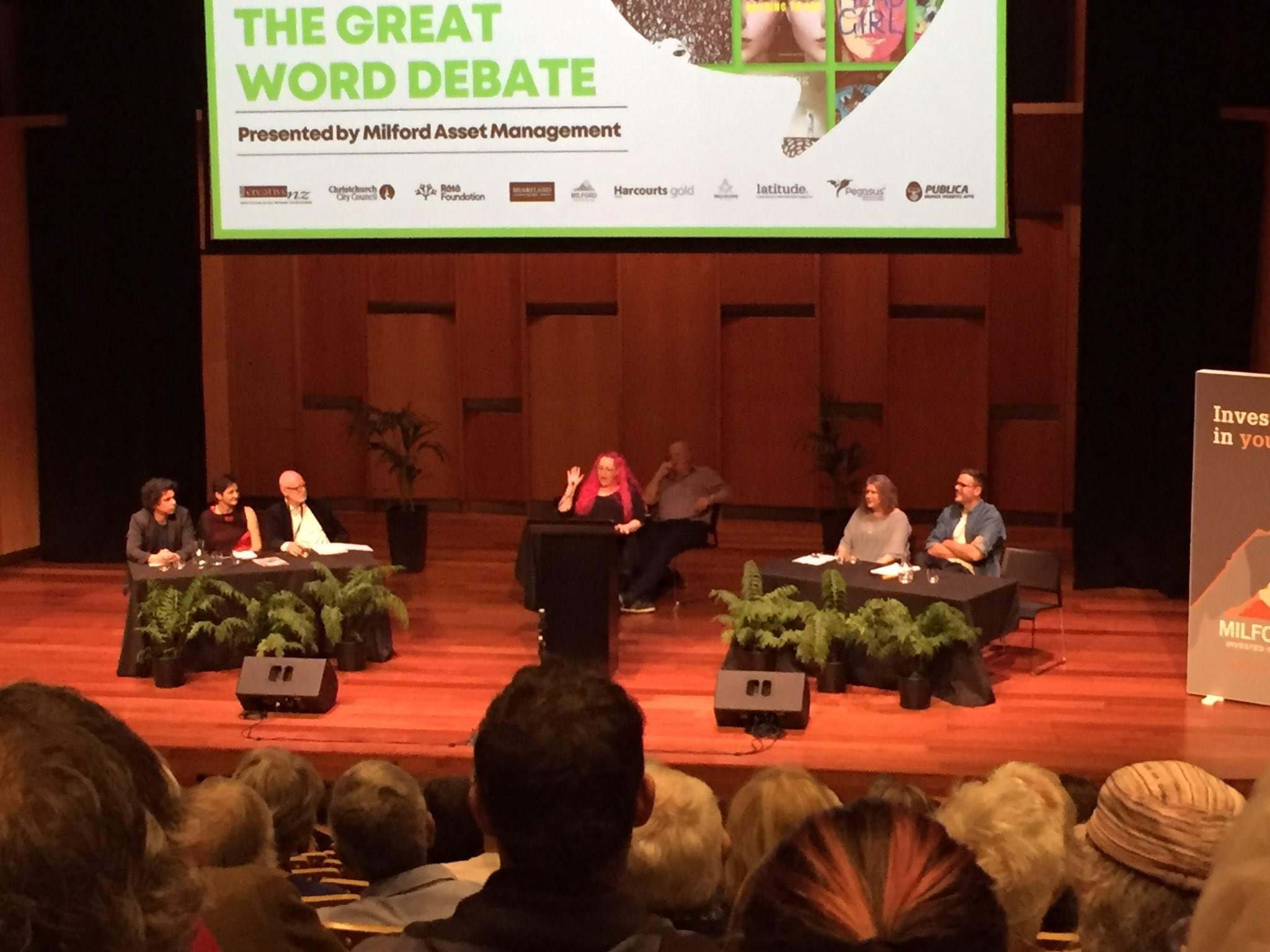 The Great Word Debate. Image supplied.